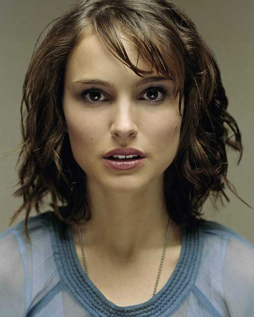 Natalie Portman Short Hair and Bangs