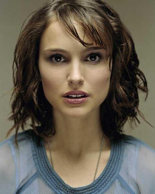 Natalie Portman Short Hair and Bangs
