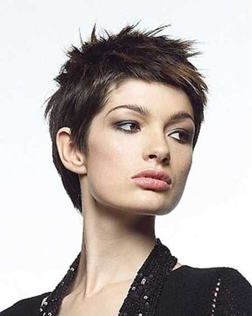 New Spiky Trendy Short Hairstyles for Women