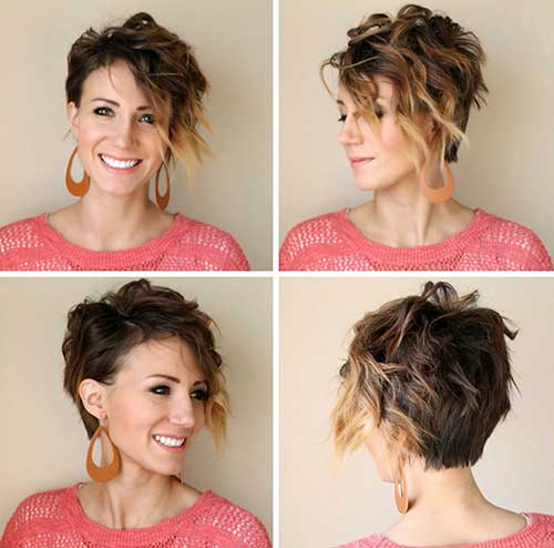Curl Pixie Cuts for Women