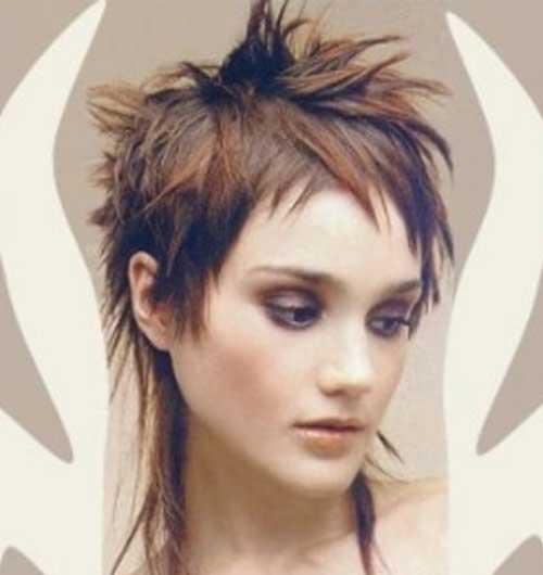Spiked Punk Short Hair
