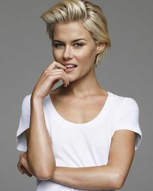 Rachael Taylor Hair Long Pixie