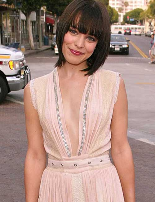 Rachel McAdams Hairstyles with Bangs