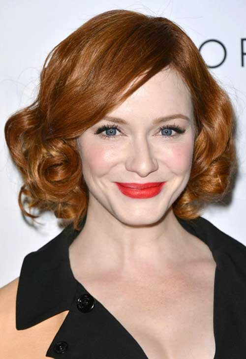 Celebrity Short Curly Hairstyles | Short Hairstyles 2017 ...