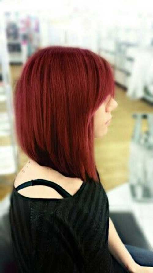 Surprising Angled Bobs With Bangs Short Hairstyles 2016 2017 Most Short Hairstyles For Black Women Fulllsitofus