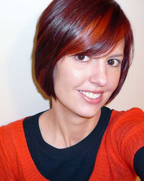 Two Toned Colored Hair: Two Tone Hair Color For Short Hair