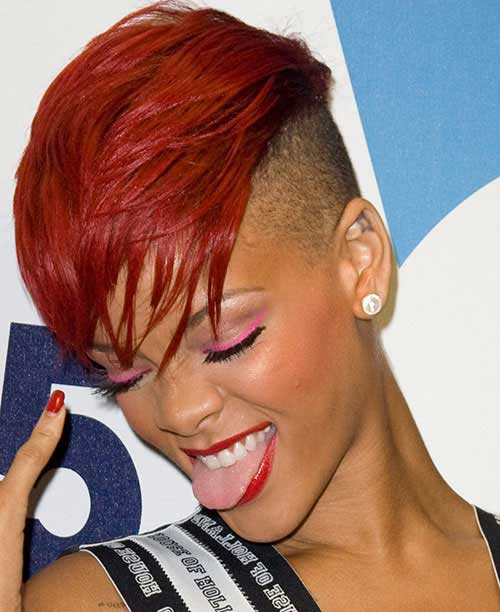 Cool Mohawk Short Hairstyles For Black Women Short Hairstyles 2016 Short Hairstyles Gunalazisus