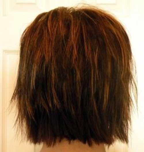Lovely Shaggy Haircuts For Short Hair