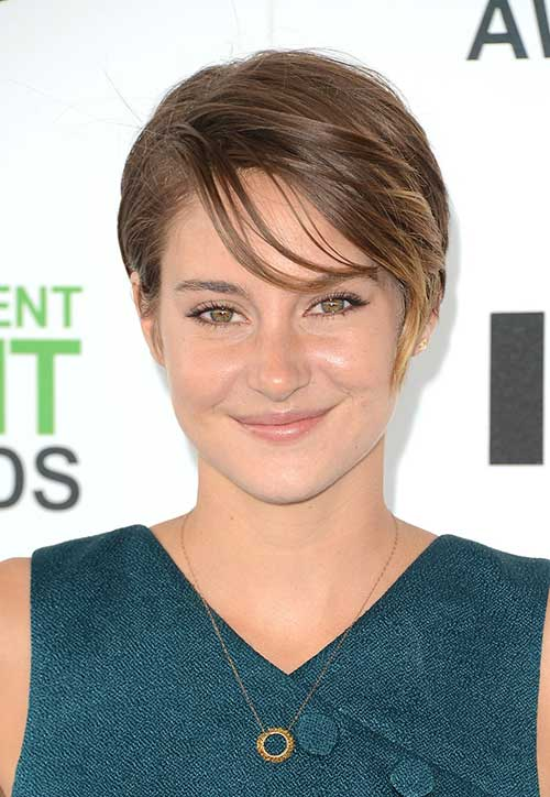 Shailene Woodley Hair and Bang