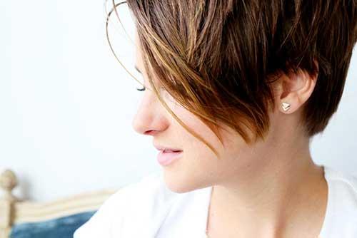 Shailene Woodley Short Hairstyles 2014