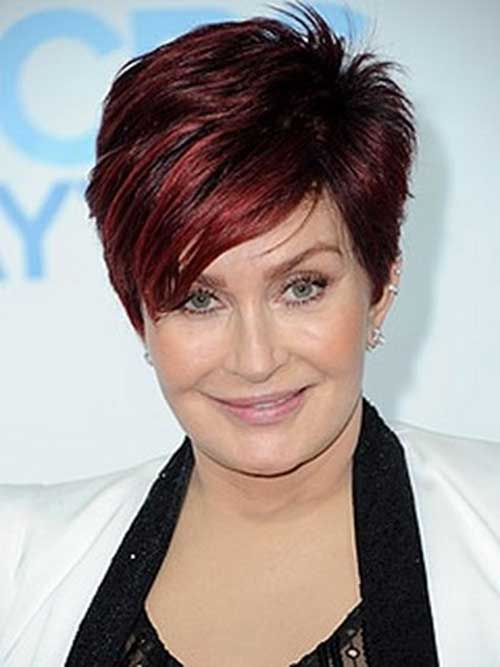 Sharon Osbourne Hair Color 2014-2015