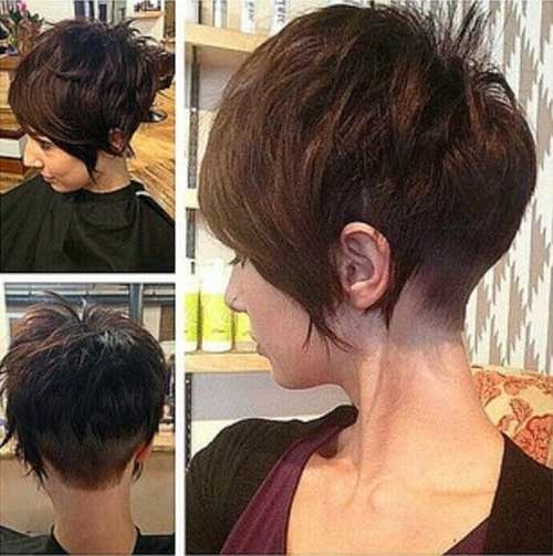 Shaved End Pixie Style Trends 2015