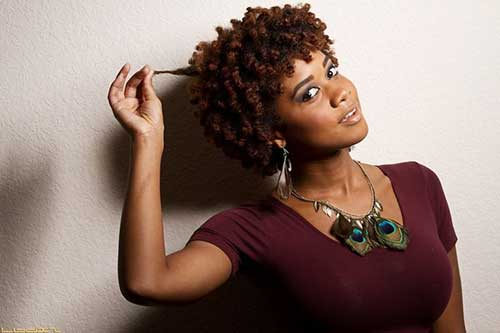 Chic Short Black Natural Hairstyles