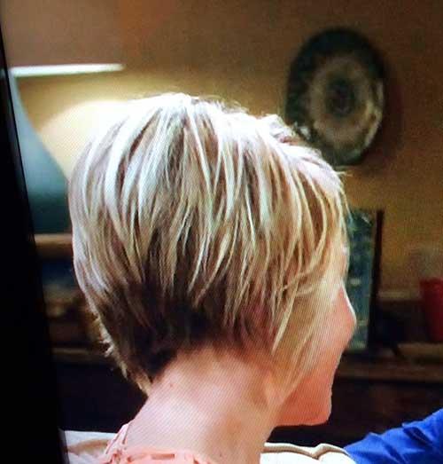 Short Bob Blond Shaggy Haircuts