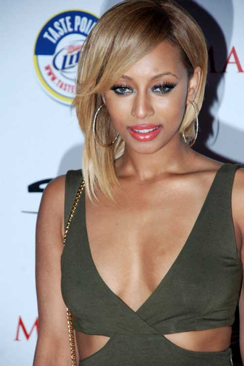 Keri Hilson Short Bobs for Black Hair