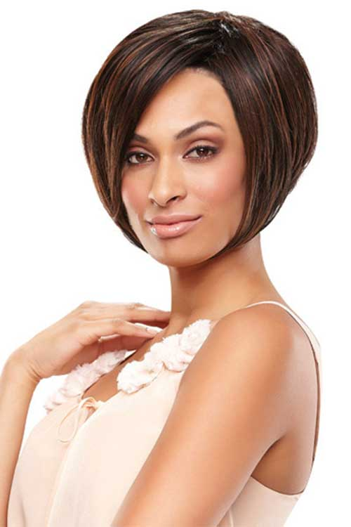 Darkest Color Short Bonding Hairstyles
