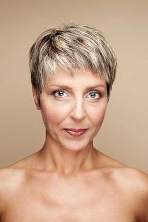 Best Short Fine Hair Cuts for Older Women