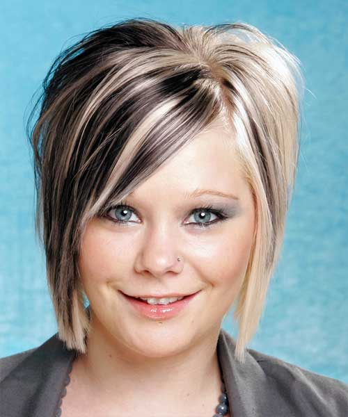 Brilliant Two Tone Hair Color For Short Hair Short Hairstyles 2016 2017 Short Hairstyles Gunalazisus