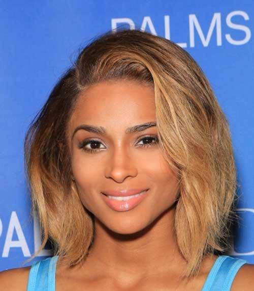 Ciara Short Haircuts For Wavy Thick Hair