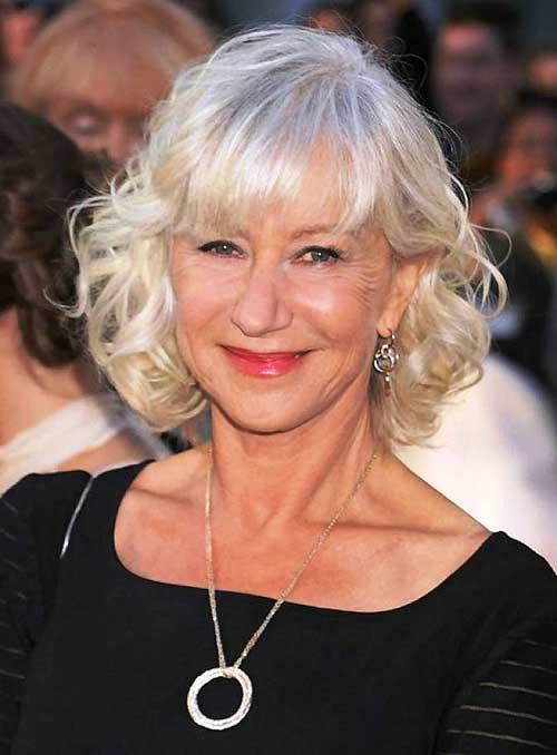 Short Blonde Hair Cut For Women Over 50