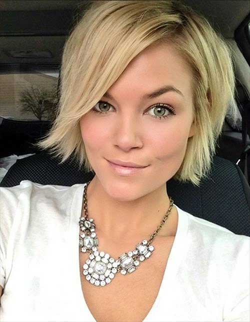 Best short haircuts for straight fine hair short hairstyles 2016 chic layered short haircut for straight fine hair urmus Gallery