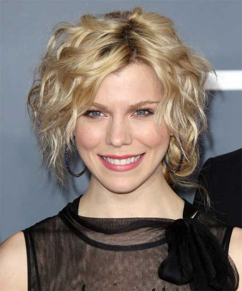Kimberly Perry Short Haircuts for Thin Curly Hair