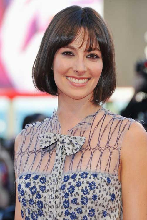 Celebrity Short Hairstyles for Fine Straight Hair