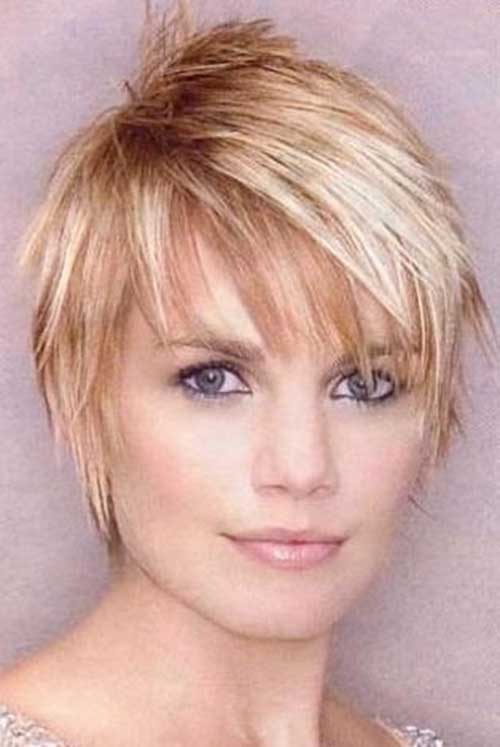 The Best Short Hairstyle with Bangs