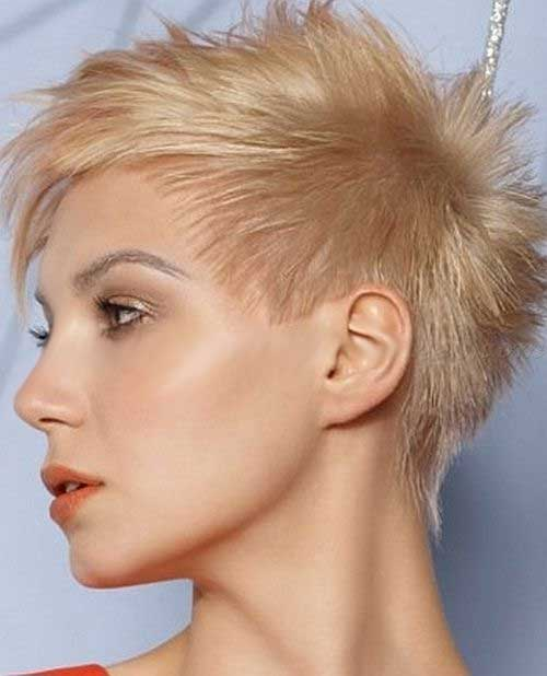 Hippy Spiked Short Haircut For Women