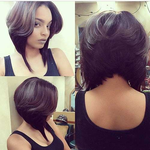 Hottest Short Layered Bob Haircuts