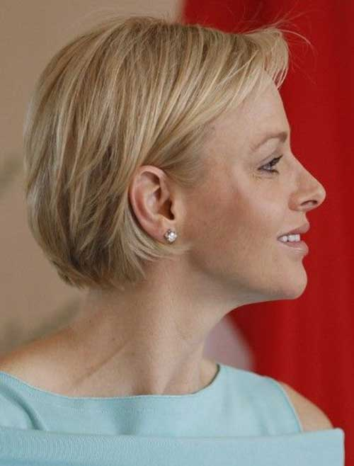 Short Layered Bob Hairstyles For Fine Hair images