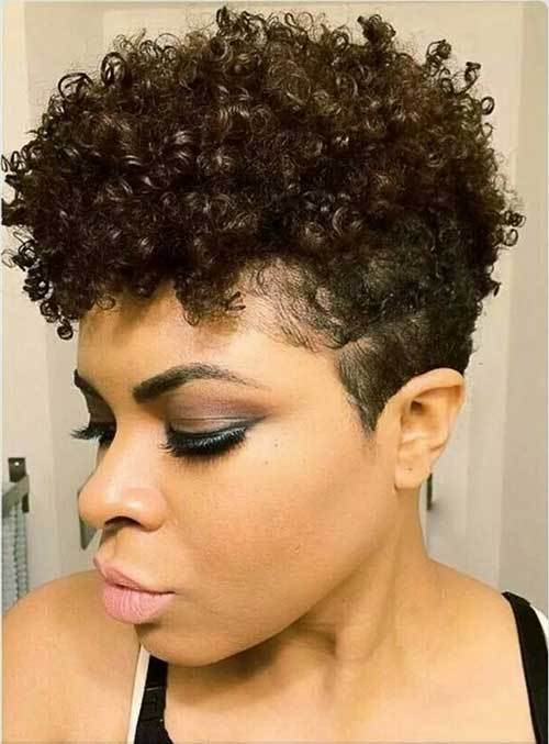 Short Tapered Natural Black Hairstyles - Best Short Hair Styles