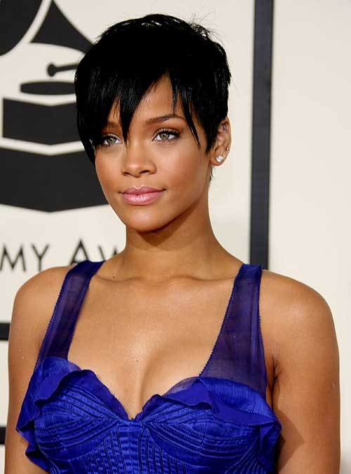 Amazing 20 Short Pixie Haircuts For Black Women Short Hairstyles 2016 Hairstyle Inspiration Daily Dogsangcom