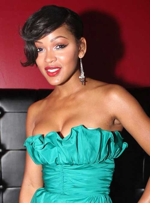 Meagan Good Short Pixie