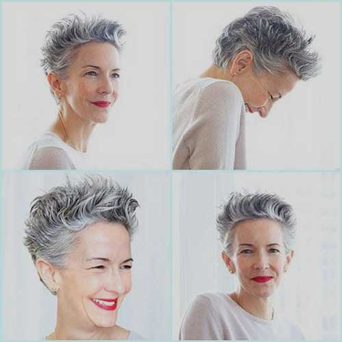 15 Short Pixie Hairstyles For Older Women Short