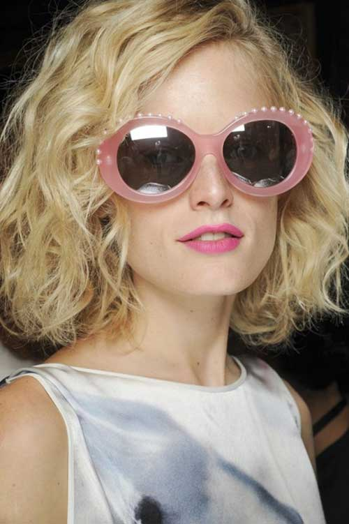Great Short Wavy Hairstyles for 2015
