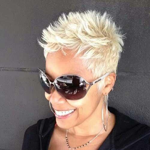 Simple Short Blonde Haircuts