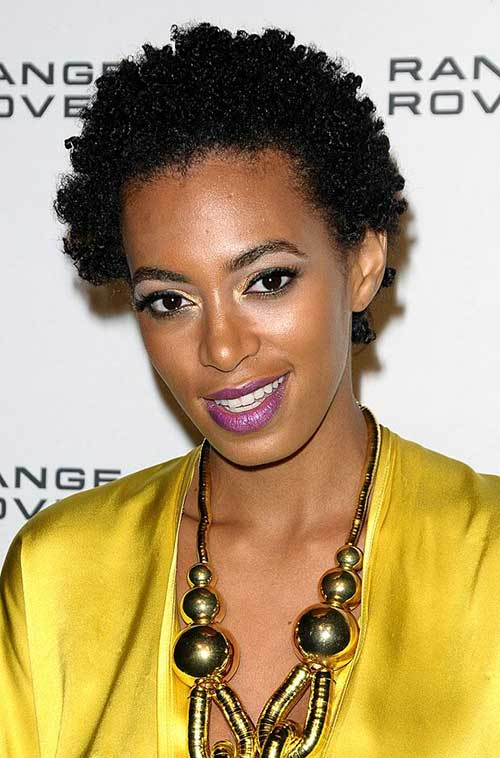 Solange Knowles Black Hair