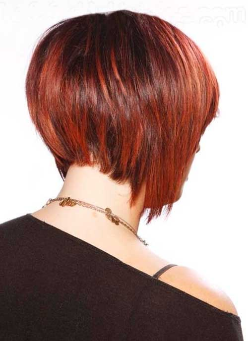 Stack of Short Bob Hairstyles