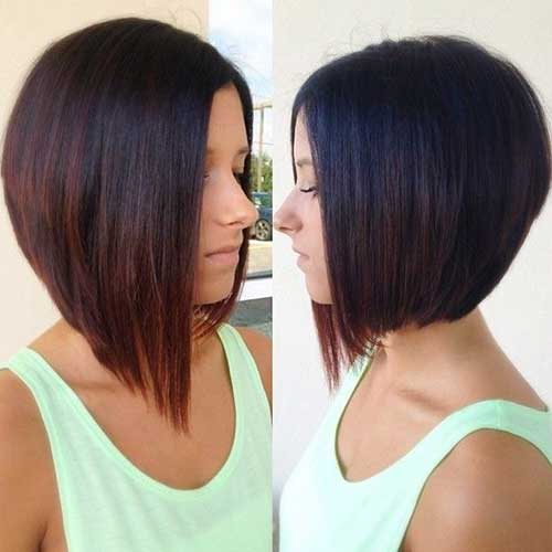 Straight Bob Haircut Ombre Hairstyles