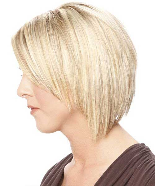 Straight Inverted Bob Back View Hairstyles