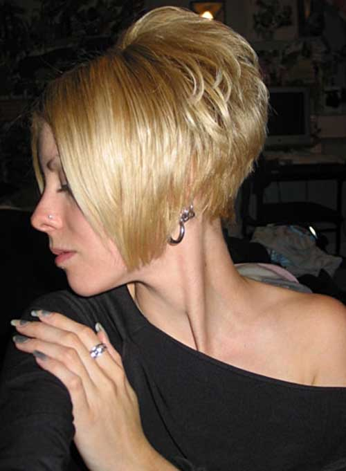 Stacked Swing Bob Haircut