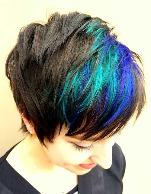 Sensational Hairstyles Short Hair With Purple And Blue Hairstyles Get Free Short Hairstyles For Black Women Fulllsitofus
