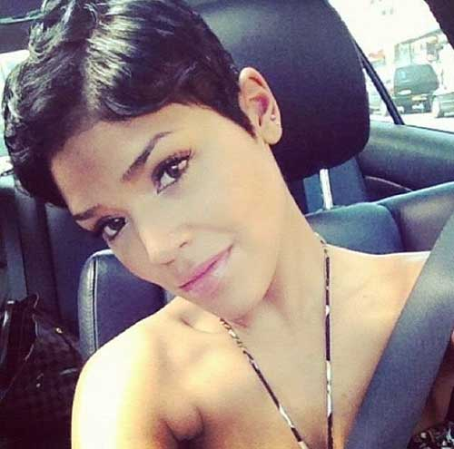 Awesome 20 Short Pixie Haircuts For Black Women Short Hairstyles 2016 Hairstyles For Women Draintrainus