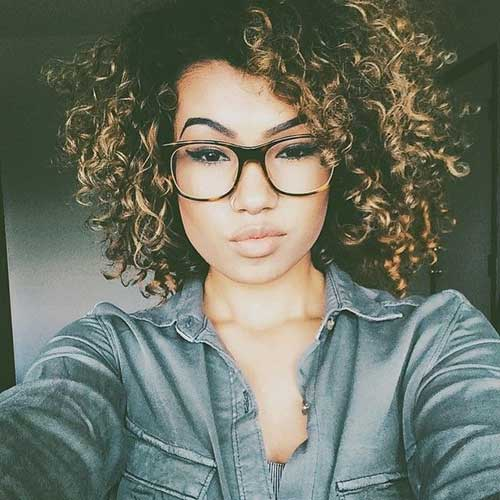 Trendy Natural Curly Girls Haircuts for 2015