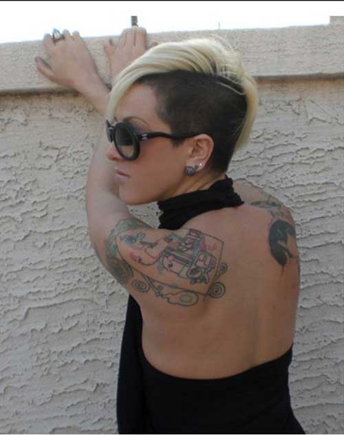 Best Two Tone Undercut