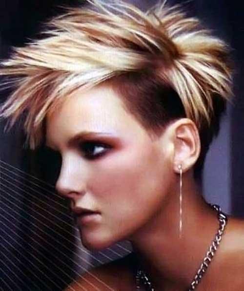 Short Pixie Undercut Hairstyles