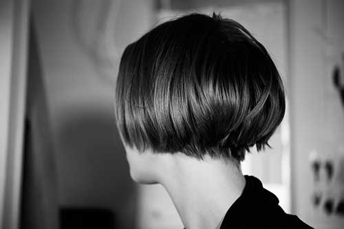 Undercut Stacked Bob Hairstyles