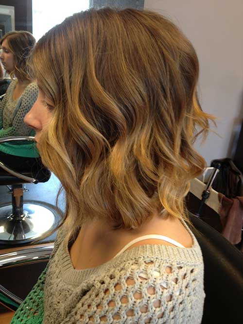 Best Wavy Bob Hair with Ombre