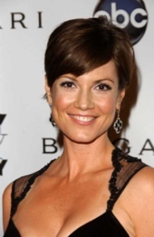 Zoe McLellan Women Pixie Hair